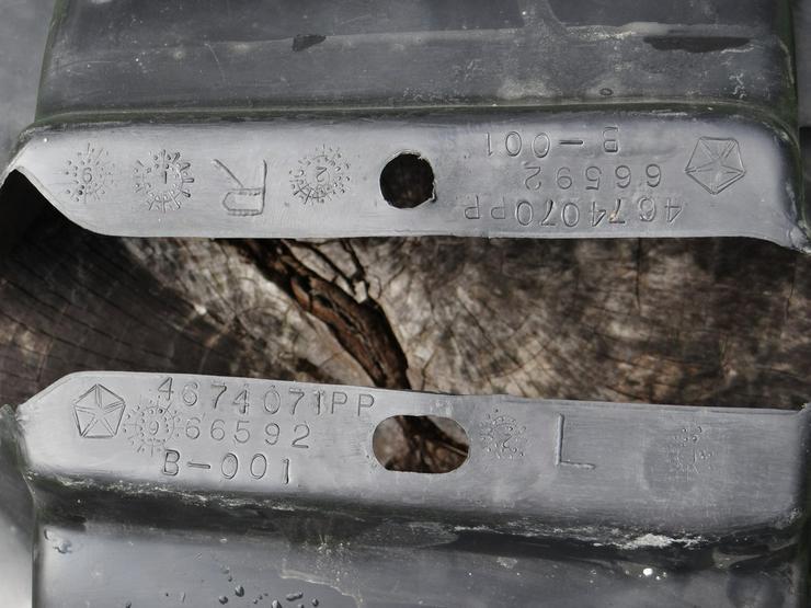 Bild 3: Chrysler Voyager ES Radhausschale vorne li + re