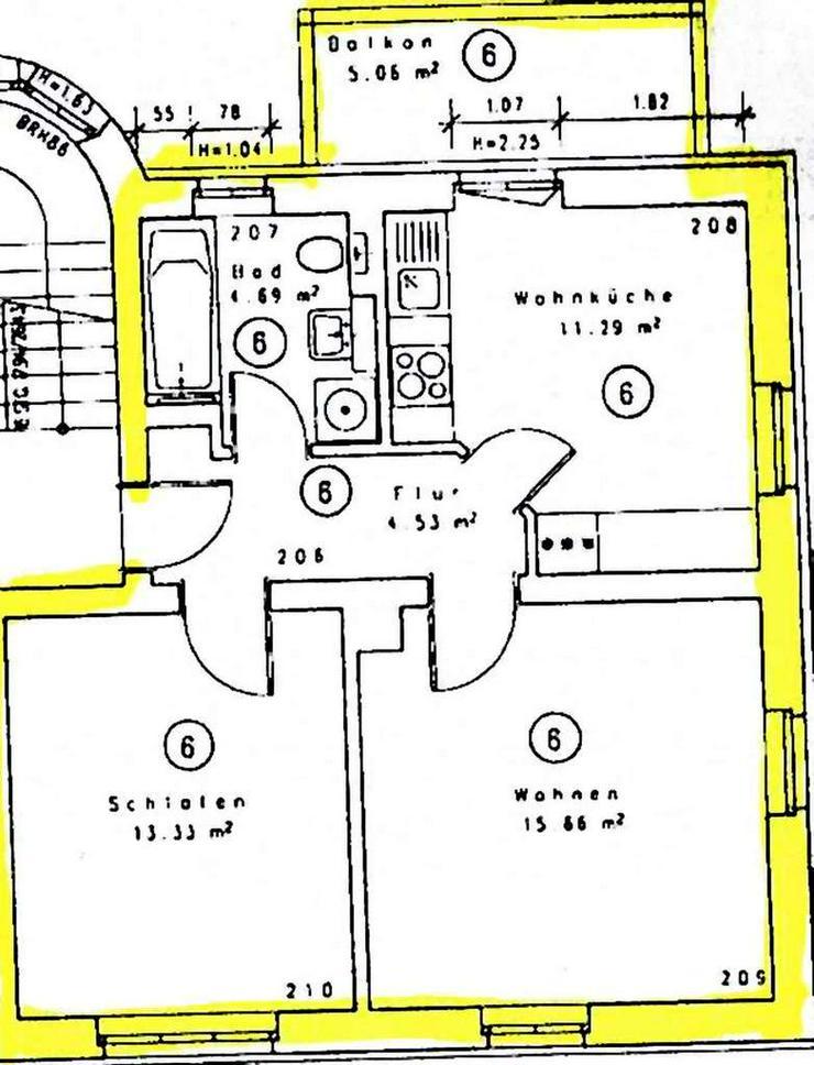 Bild 4: KAPITALANLAGE in Dresden - 2 Eigentumswohnungen in Niedersedlitz und Tolkewitz zu verkaufe...