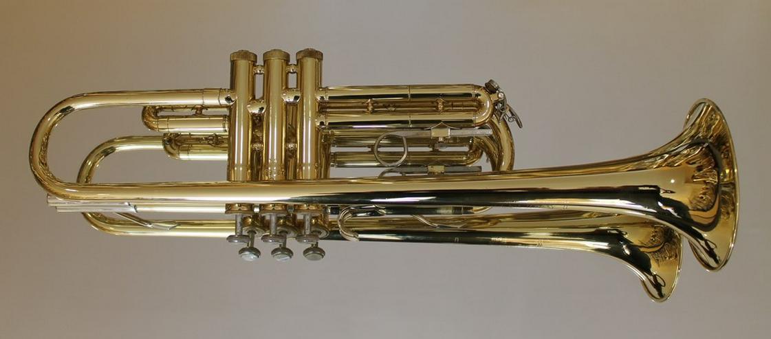 Bild 3: Selmer U.S.A. B - Trompete, Messing lackiert