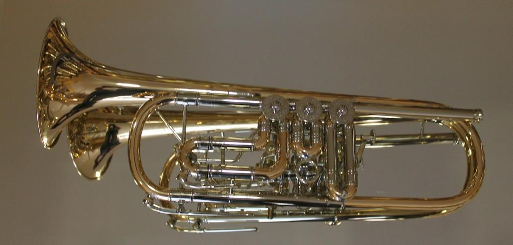 Bild 5: Scherzer Profiklasse Konzert - Trompete 8218W-L