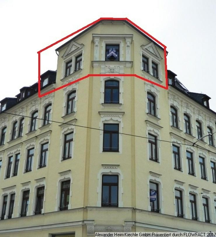 Welch ein Ausblick! Wohnen im Denkmal im Preißelpöhl - 1 Zimmer-Apartment im Dachgescho?...