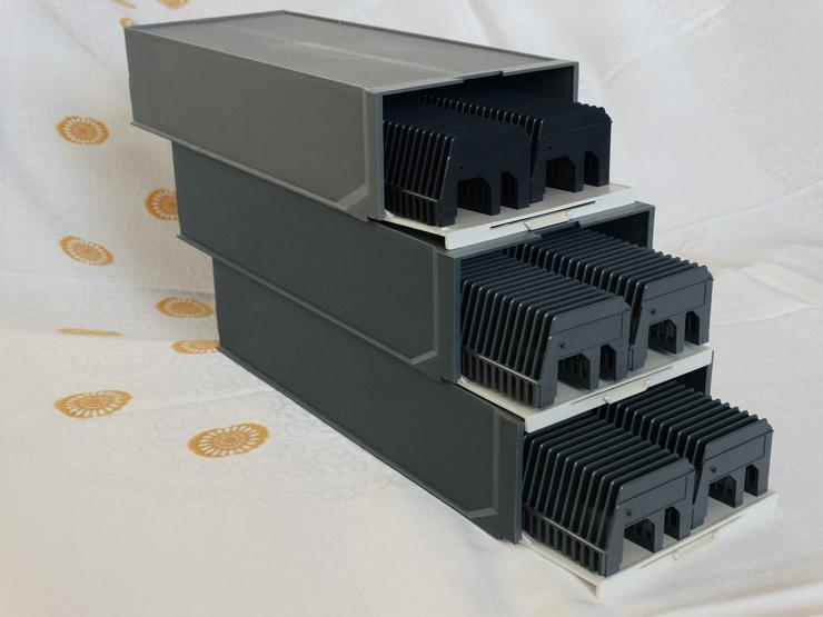 Dia-Boxen 3-er Sets / Einzel-Dia-Boxen
