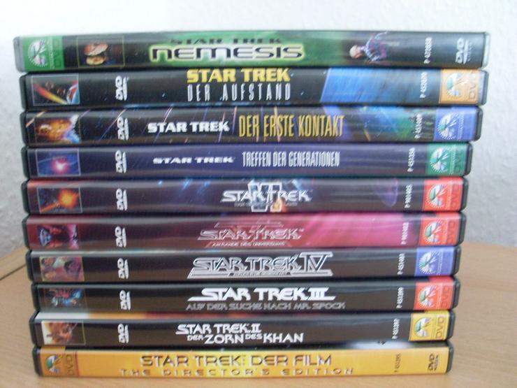 Star Trek 1-10 DVD Kinofilme Erstauflage + Directors cut ! - DVD & Blu-ray - Bild 1