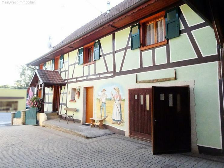 Renoviertes Fachwerkhaus mit Potenzial im Elsass - 25 km von Basel u. Weil