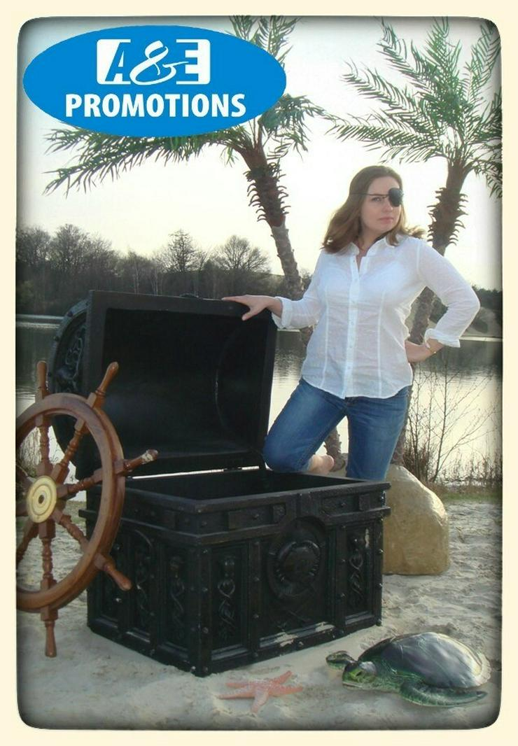 Bild 3: schatzkiste mieten tresor piraten verleih kanon