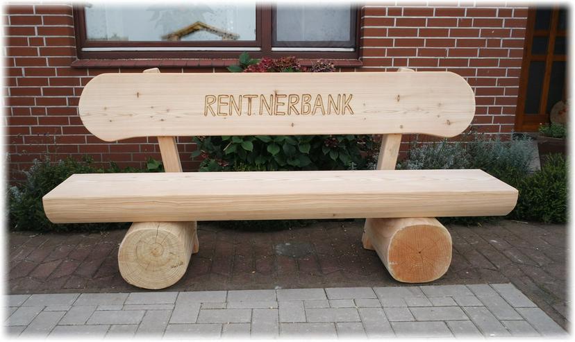 Bild 5: Weinachtsgeschenk.Hochzeitsgeschenk.Holzbank.