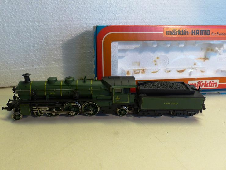 MÄRKLIN-Dmpflokomotive Nr.8392 H0, Gleichstrom - Bild 1