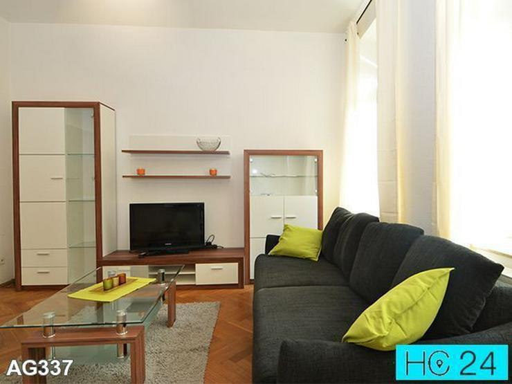 * BALKON + Plagwitz + MODERN möblierte 2-Raum-Wohnung in Leipzig + ruhige Lage - Bild 1