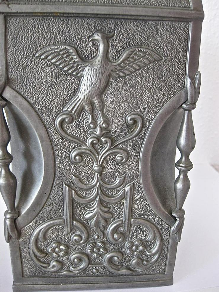 Bild 3: Alter Zinnbehälter mit Ringdeckelverschluss