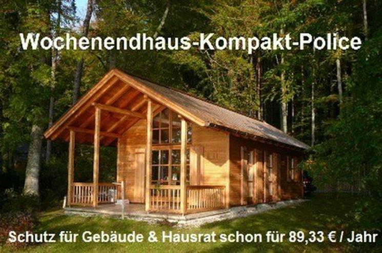Schutz für Wochenendhaus / Ferienhaus / Gartenhaus ab 7,41 € / Monat