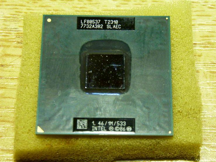 CPU Intel® Pentium®  T2310 1M  1.46 GHz