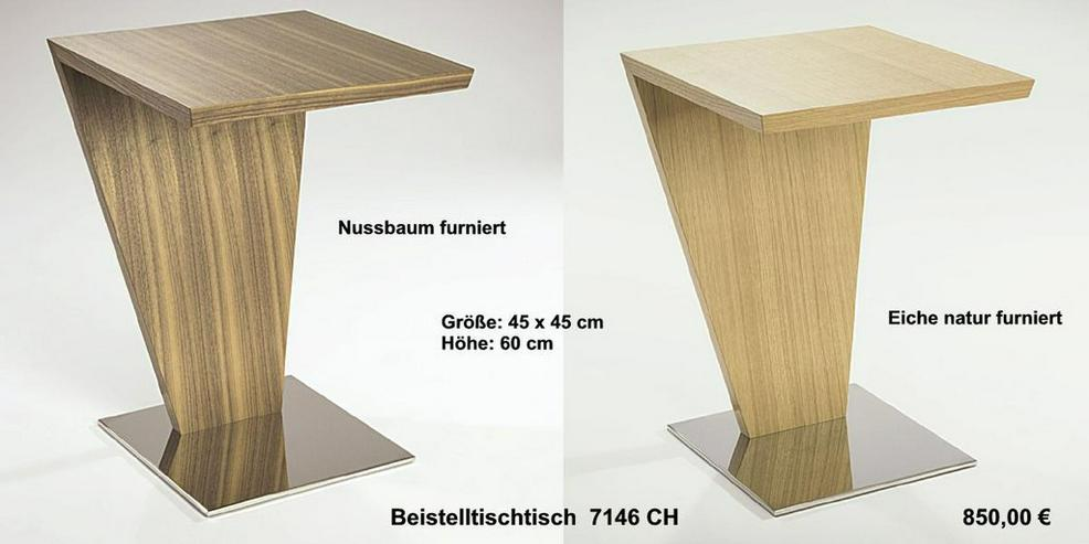 Bild 3: Couchtisch - Nussbaum o. Eiche furniert