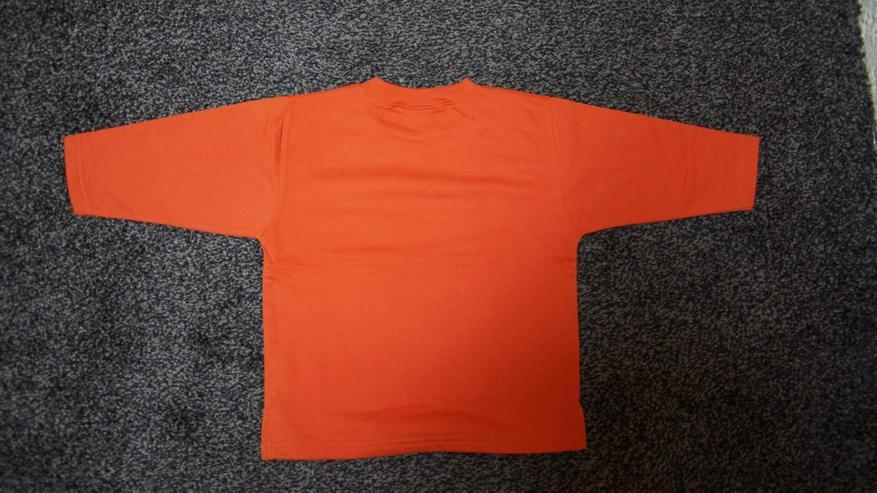 Bild 4: Sweat, Gr. 92, orange, DIng Dong, neu