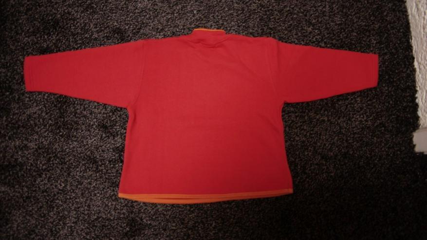 Bild 4: Sweat m. Stick, Gr. 92, rot, Bondi, neu