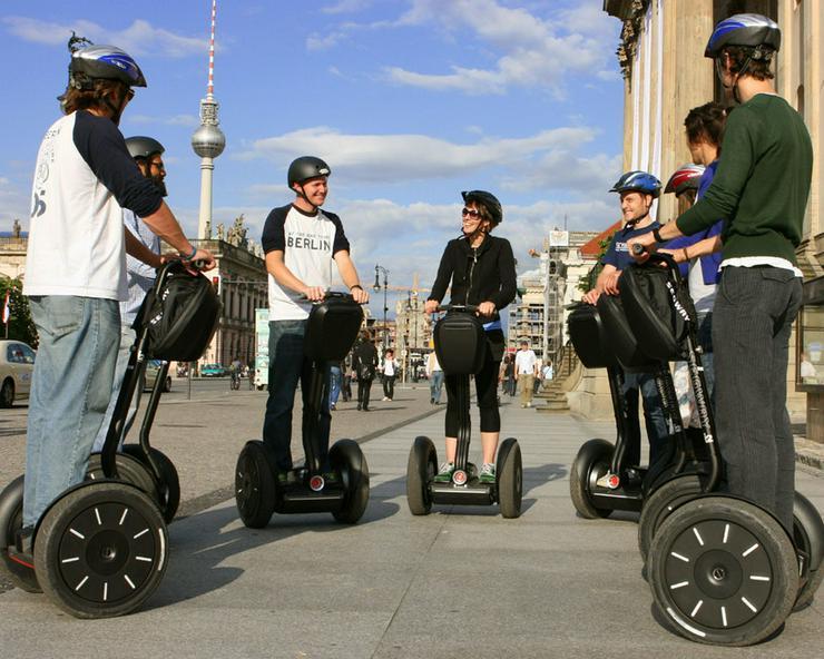 Segway Touren in Berlin und Potsdam