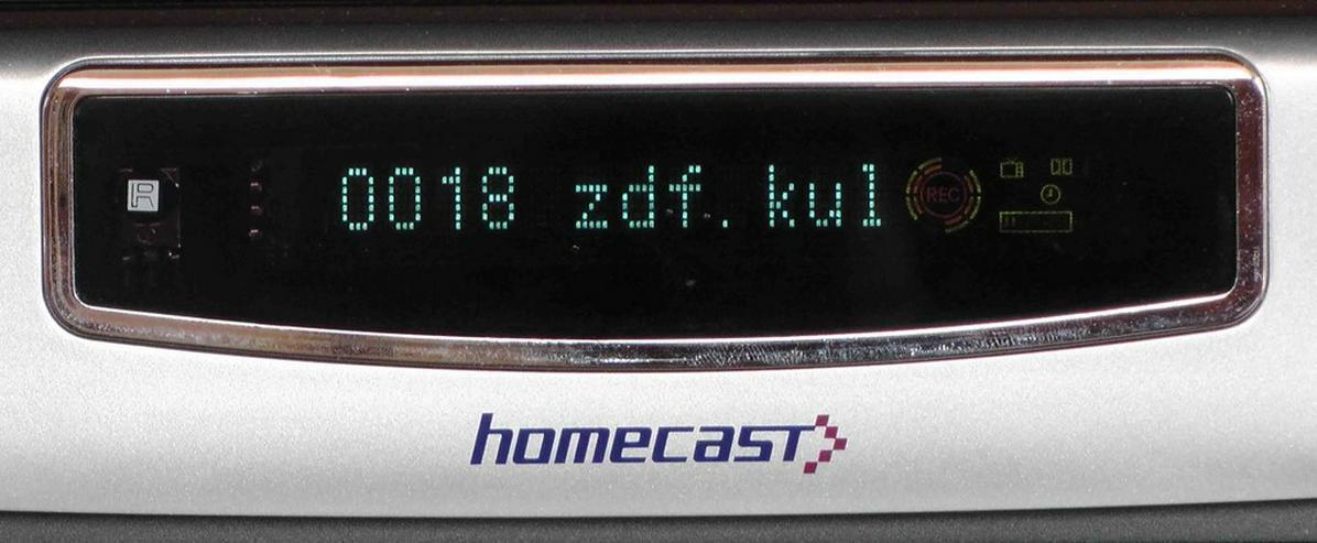 Bild 3: HOMECAST Sat Receiver, Twin Tuner, 250GB FP, 2 Slots