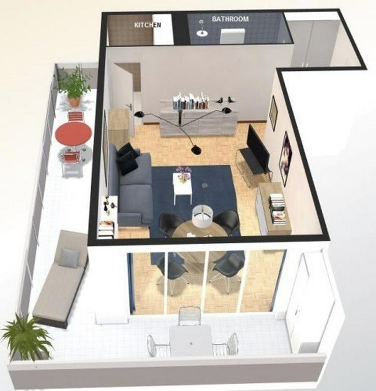 Bild 4: Montreux (CH) Möblierte Appartement zu mieten