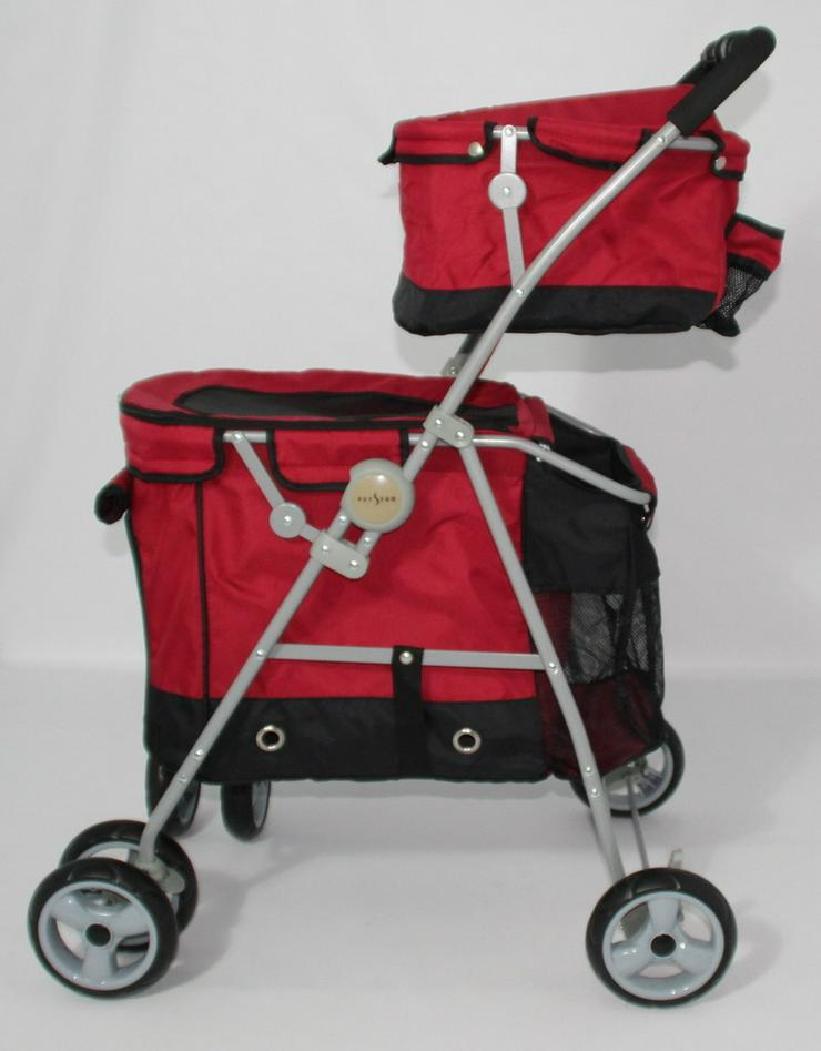 Hundekinderwagen Duo Rouge 2 100 x 51 x 74 cm - Transport - Bild 1