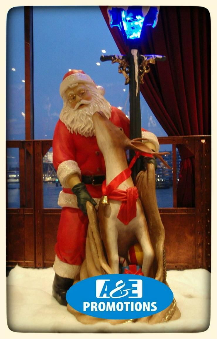 mieten eisbár requisiten weihnachtsmann meppen