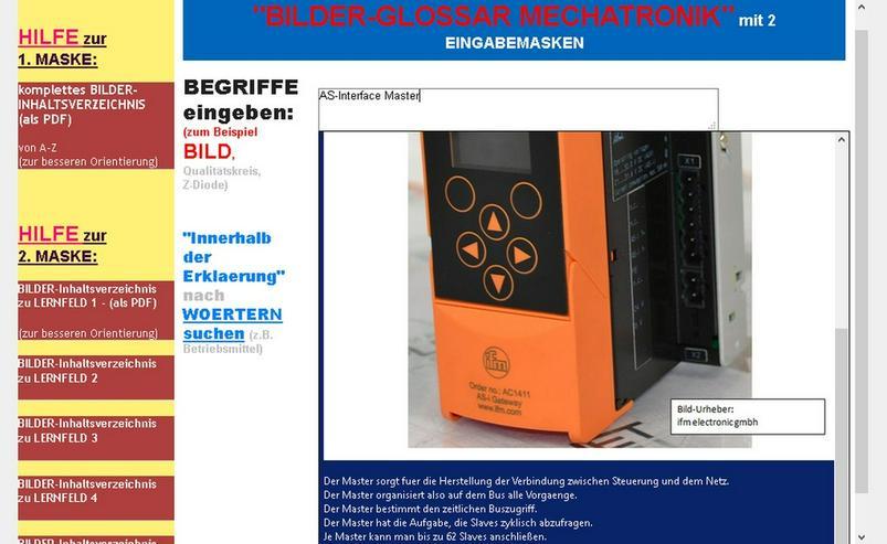 Bild 2: Bildsprache fuer Mechatroniker/ Elektroniker