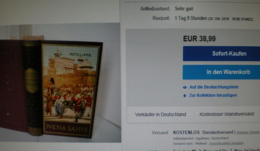 Bild 6: Buch Nena Sahib (FP) noch 1 x Preis runter gesetzt !