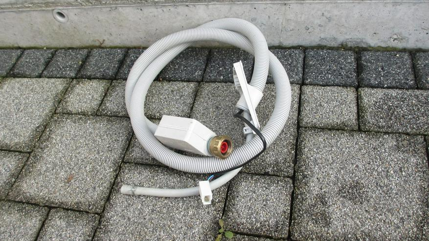Aquastop-zulaufschlauch 3/4 für Spülmaschinen.