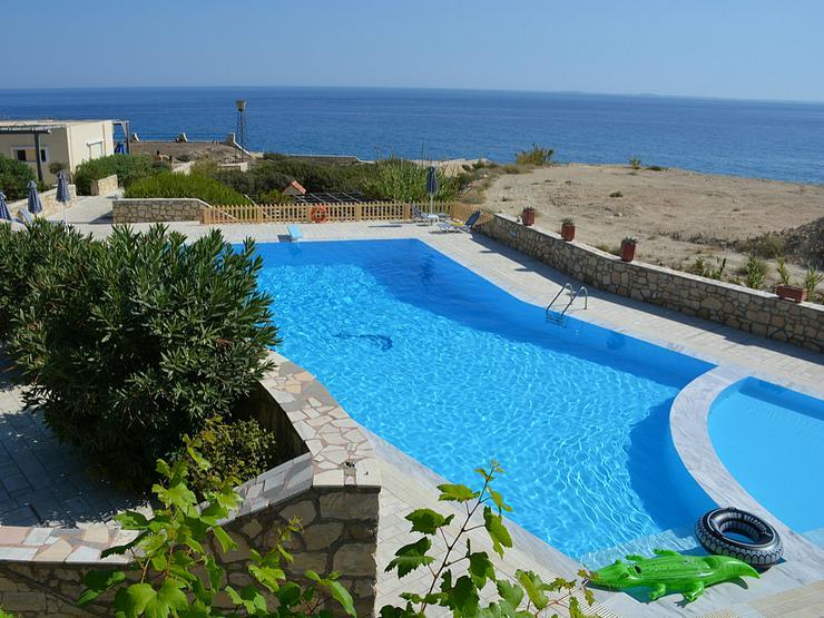 KRETA, Ferienwohnung Oase am Meer mit Pool