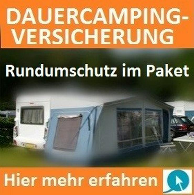 Dauercamping Versicherung für Standwohnwagen