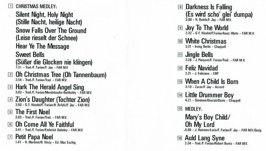 Bild 2: 2 CDs mit Weihnachtsliedern
