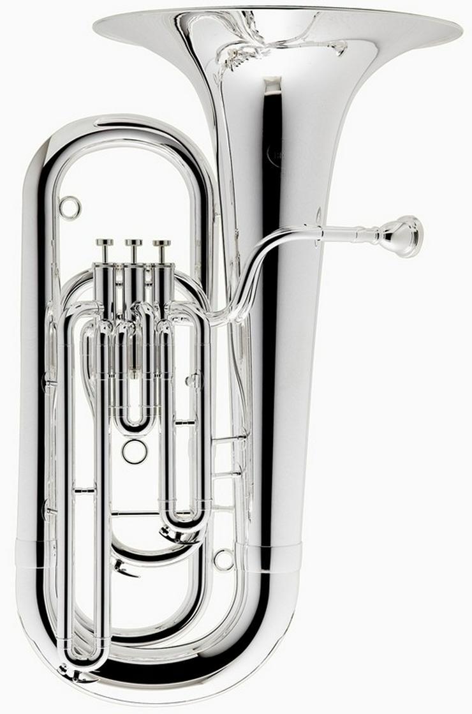 Besson Es - Tuba Neu, echt versilbert + Koffer - Blasinstrumente - Bild 1