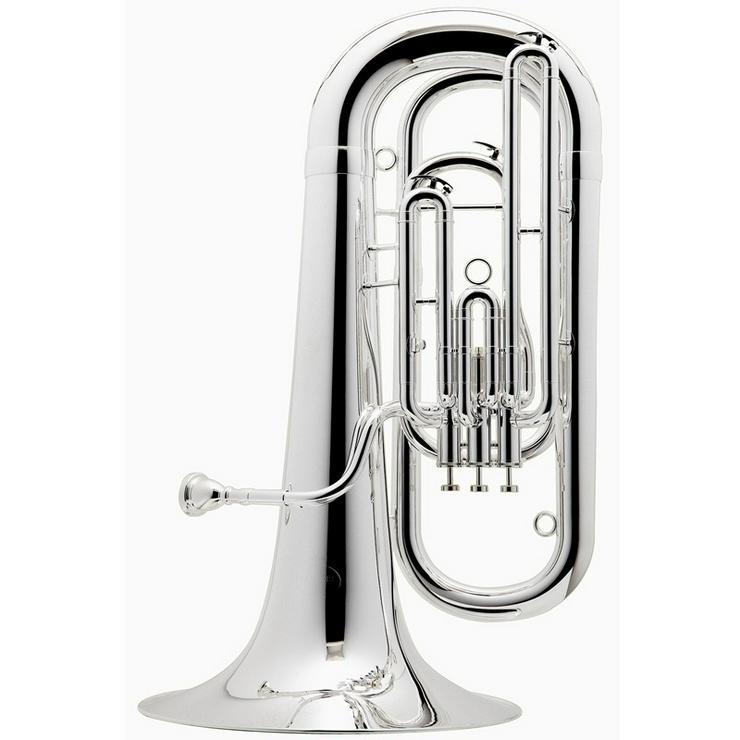 Bild 3: Besson Es - Tuba Neu, echt versilbert + Koffer