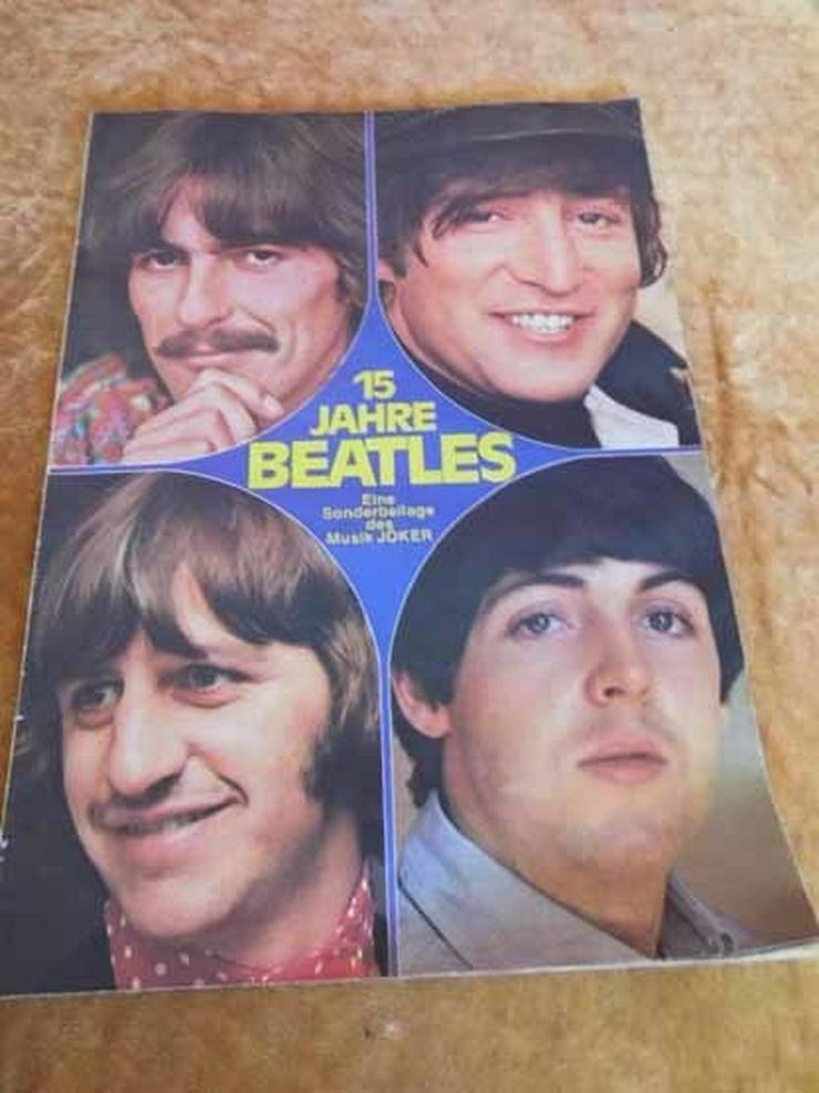 15 Jahre Beatles, Sonderbeilage des Musik Joke