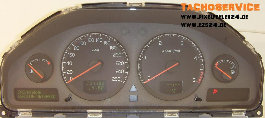 Reparatur Tacho Kombiinstrument Volvo S60 u.w