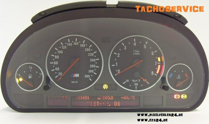 Tacho Kombiinstrument BMW E39, E38, E53 u.a