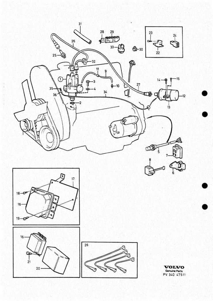 Bild 2: Original Ersatzteilebuch fur Volvo 240 und 260