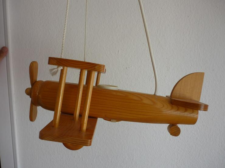 Fliegerlampe aus Holz