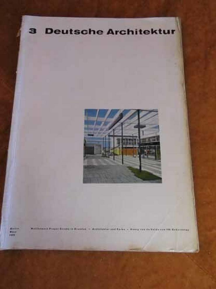 Deutsche Architektur, 3. Jahrgang März 1963 /