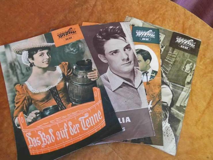 4 Progress Filmprogramm Hefte 1961, 32/61, 46/