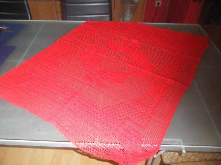 Tischdecke Reine  Handarbeit  80 x 80 cm