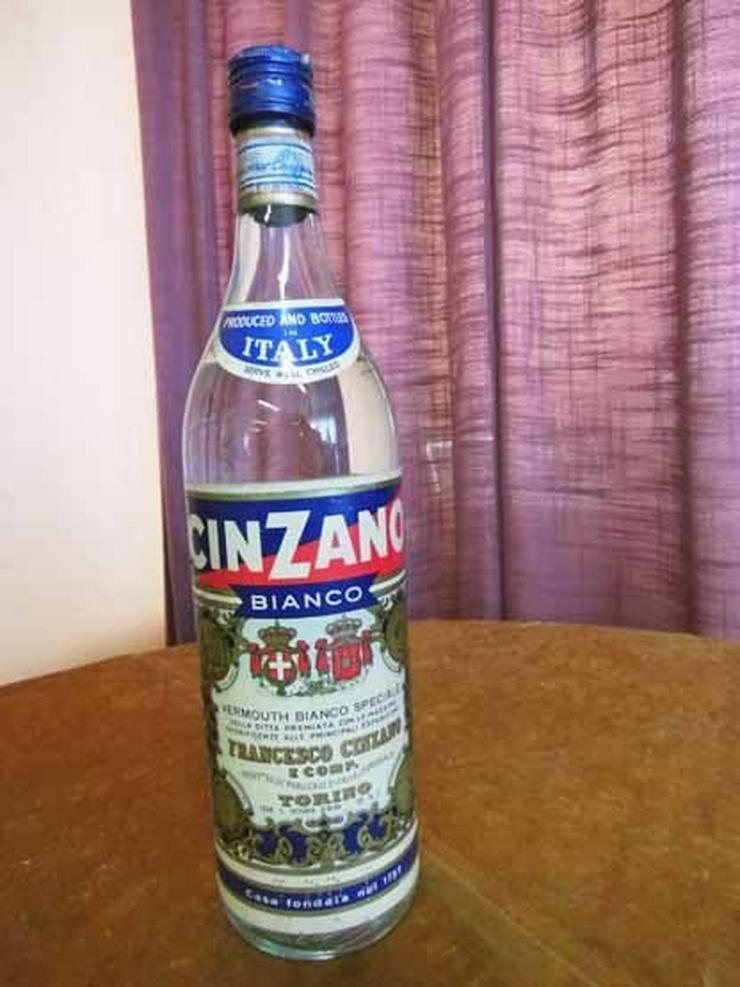 1 Flasche Cinzano Bianco, 1 Liter / 80er oder