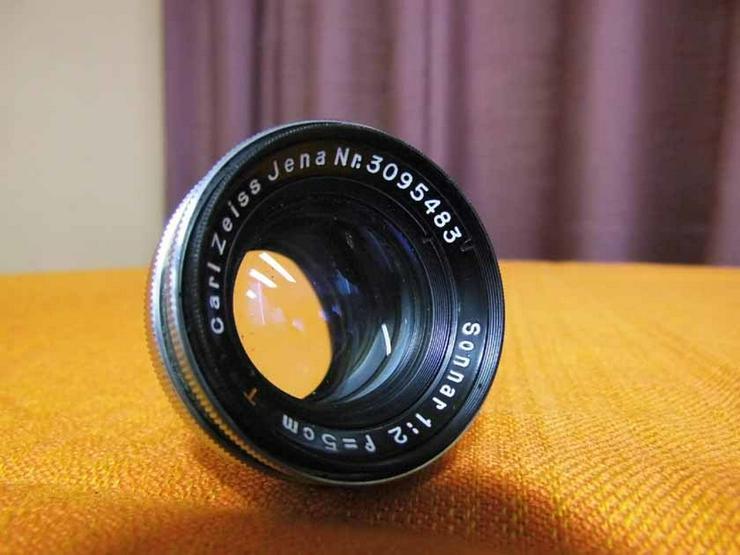 Carl Zeiss Jena Sonnar 1:2, f-5cm / Objektiv R