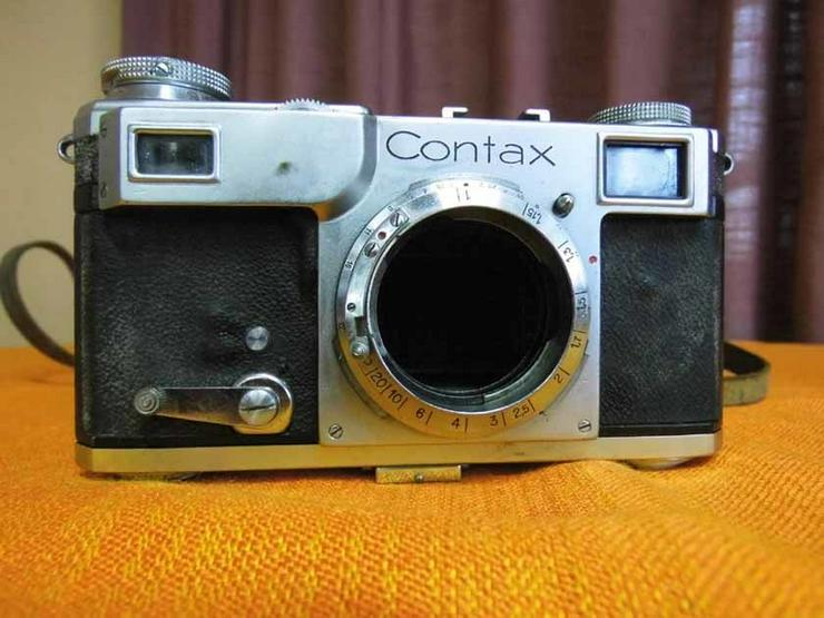 Zeiss Ikon, antike Kamera CONTAX II, B 48466 /