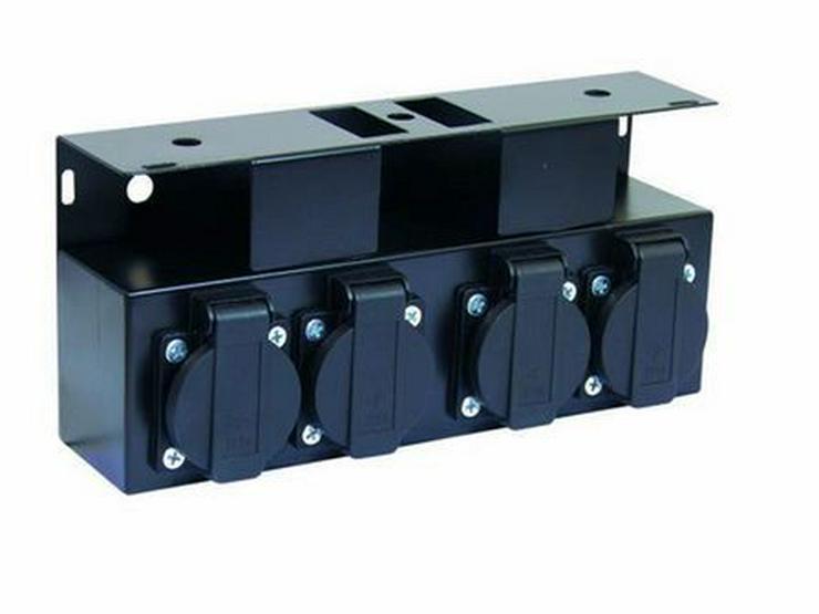 Stromverteiler SB-4 Stahlbox unverkabelt