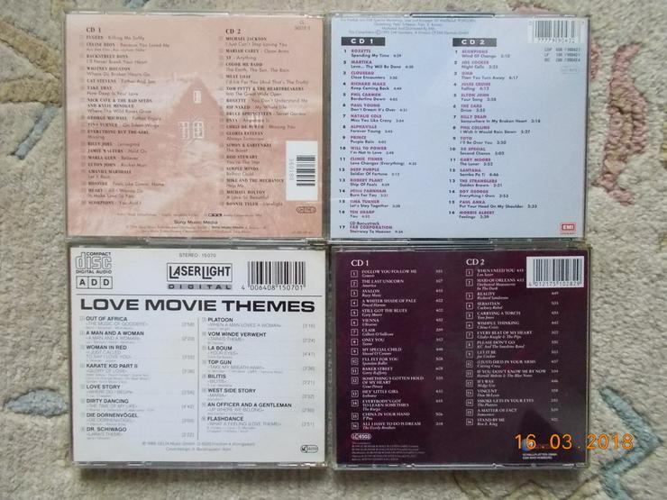 CD?s Rock, Pop, Schlager, Kuschelmusik, (St.)