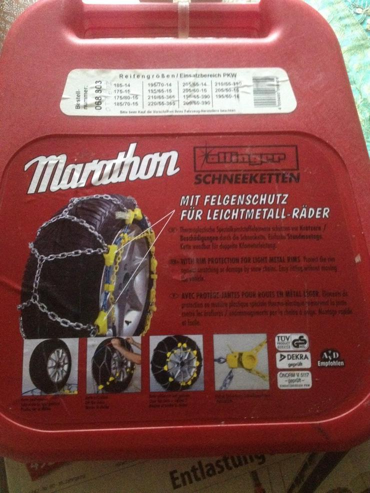 Schneeketten Ottinger Marathon für Alufelgen