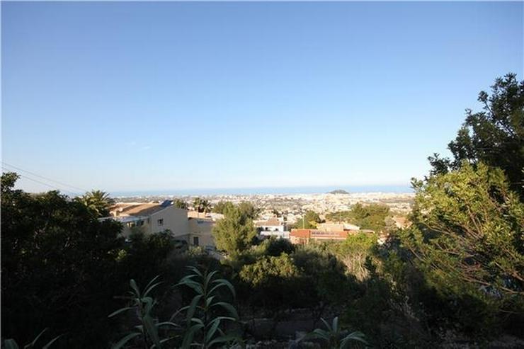 Schönes, großzügiges Baugrundstück mit super Meersicht in Denia am Montgo - Grundstück kaufen - Bild 1