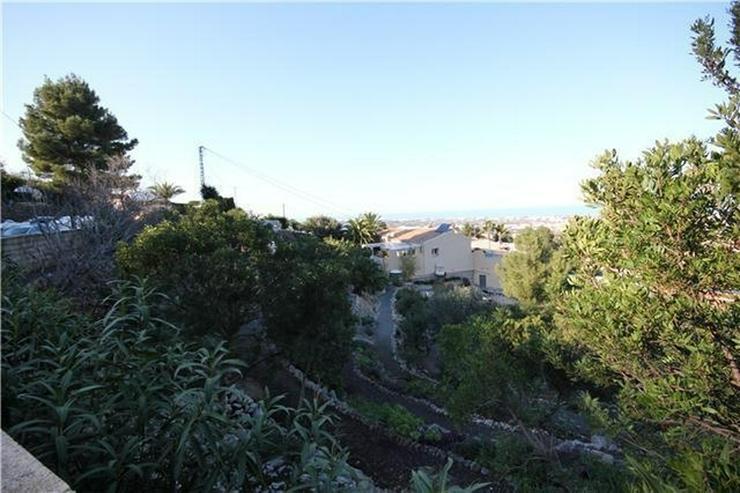 Bild 3: Schönes, großzügiges Baugrundstück mit super Meersicht in Denia am Montgo
