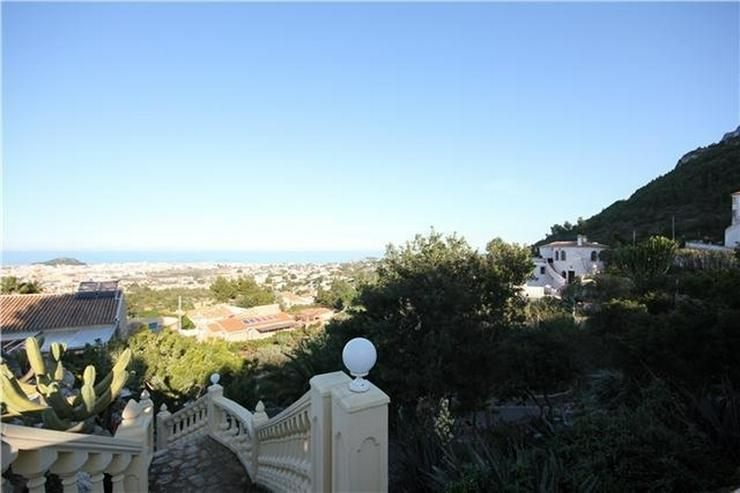 Bild 2: Schönes, großzügiges Baugrundstück mit super Meersicht in Denia am Montgo