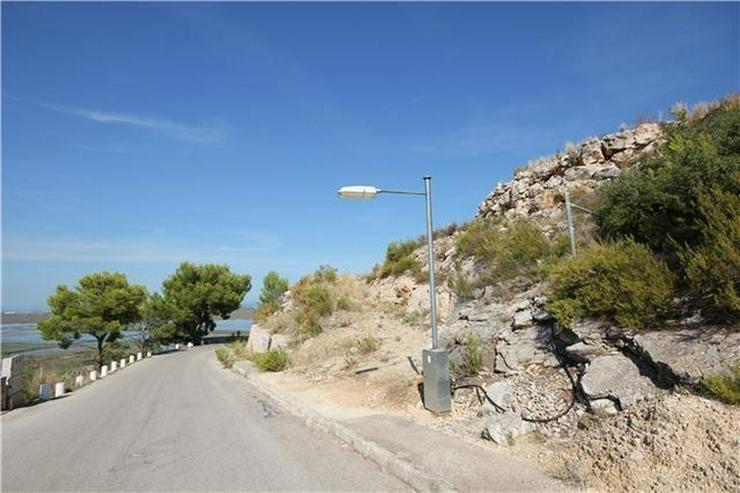 Bild 2: 1200 m² Baugrundstück in sonniger Lage mit Aussicht aufs Meer, die Berge und Pegos Natur...