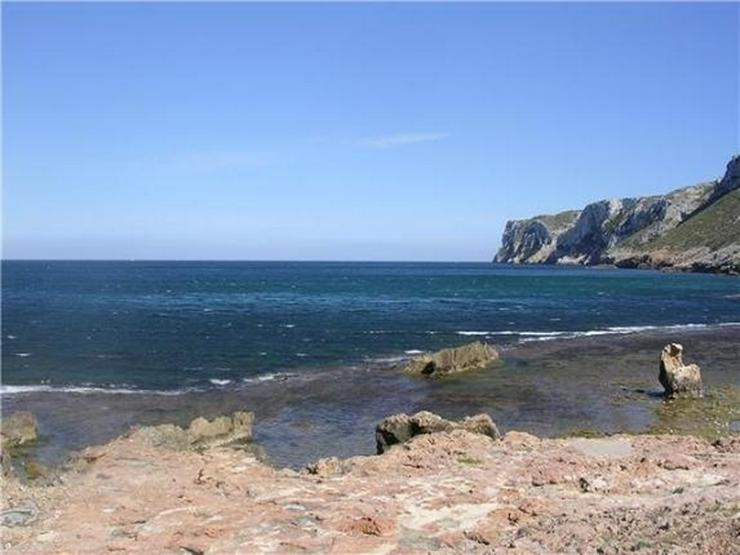 Bild 5: Traumhaftes Baugrundstück mit einer unbeschreiblich schönen Fernsicht auf das Meer und i...